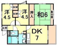 レジデンス松田[3階]の間取り