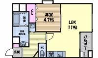 ライオンズマンション丸の内第3[2階]の間取り