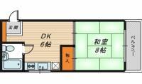 メゾン431[2階]の間取り