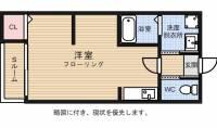 博多サウスタワー31F[2階]の間取り