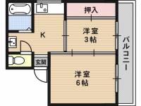 幸栄マンション[2階]の間取り