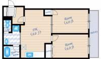 第9小野ビル[2階]の間取り