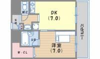 ピュアハウス甲子園[3階]の間取り