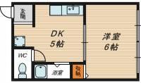 室谷ビル[3階]の間取り