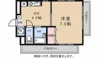 高橋マンション2[4階]の間取り