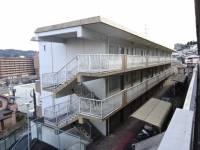 玉手山ハイツ1号館[1階]の外観
