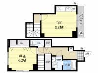 ホヌオハマ(honu ohama)[1階]の間取り
