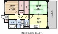 KOBE兵庫壱番館[6階]の間取り