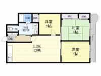 東朋第一マンション[5階]の間取り