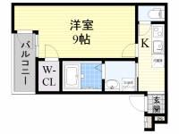 フジパレス住吉沢之町2番館[3階]の間取り