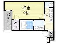 フジパレス住吉沢之町3番館[2階]の間取り