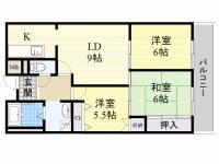 マンション新屋[7階]の間取り