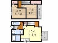 [タウンハウス] 愛知県名古屋市天白区植田東3丁目 の賃貸【愛知県 / 名古屋市天白区】の間取り