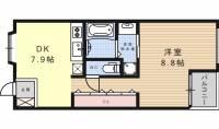 グラン・アベニュー栄[7階]の間取り