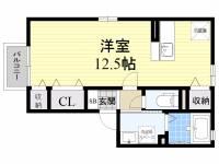 トウスケハウス[2階]の間取り