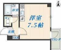 清洲プラザ高井田[7階]の間取り
