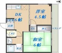 裕希栄マンション[1階]の間取り