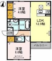 (仮称)山本通2丁目D−room[1階]の間取り