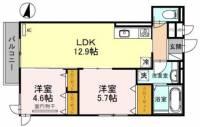 (仮称)山本通2丁目D−room[3階]の間取り