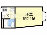プレアール長居公園4[5階]の間取り