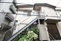 東京都渋谷区恵比寿3丁目の賃貸アパートの外観
