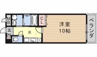愛知県名古屋市南区弥次ヱ町1丁目の賃貸マンションの間取り