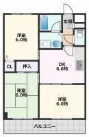 みやびマンション[3階]の間取り