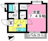 コンフォール井尻[2階]の間取り