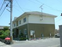 滋賀県栗東市小柿2丁目の賃貸アパートの外観
