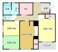 MJアパート[3階]の間取り
