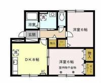 D-FREA HIRATA A[2階]の間取り