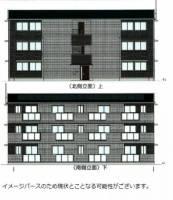 エスポアール・タカムラⅢ B棟[301号室]の外観