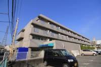 松山南マンション[410号室]の外観