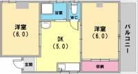 メゾン・ド・菊水[2階]の間取り