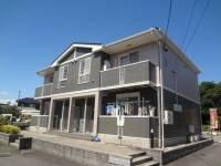 三重県四日市市釆女町の賃貸アパートの外観