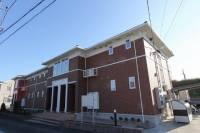三重県四日市市日永2丁目の賃貸アパートの外観