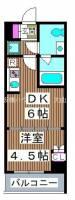 仮称)熊野町マンション[4階]の間取り