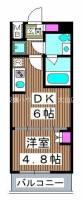 仮称)熊野町マンション[7階]の間取り