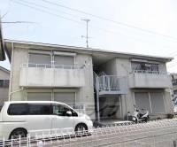 京都府京都市山科区椥辻番所ヶ口町の賃貸アパートの外観