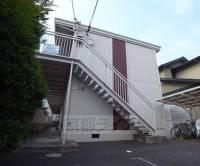 京都府京都市山科区御陵大津畑町の賃貸アパートの外観