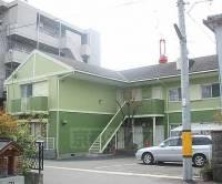 京都府京都市山科区椥辻草海道町の賃貸アパートの外観