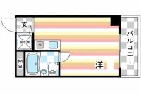 ライオンズマンション神戸元町[403号室]の間取り