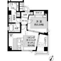POCO A POCO三宮ハイタワー[10階]の間取り