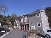 兵庫県神戸市北区有野町唐櫃の賃貸アパートの外観