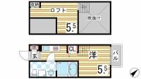 CRESTCOURT鷹取[103号室]の間取り