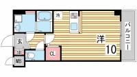 兵庫県神戸市長田区神楽町5丁目の賃貸マンションの間取り