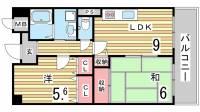 エスポワール・ダイエイ[5階]の間取り
