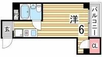 ベル板宿II[2階]の間取り