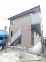 神奈川県川崎市幸区鹿島田1丁目の賃貸アパートの外観