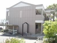 愛知県豊田市本田町神明戸の賃貸アパートの外観